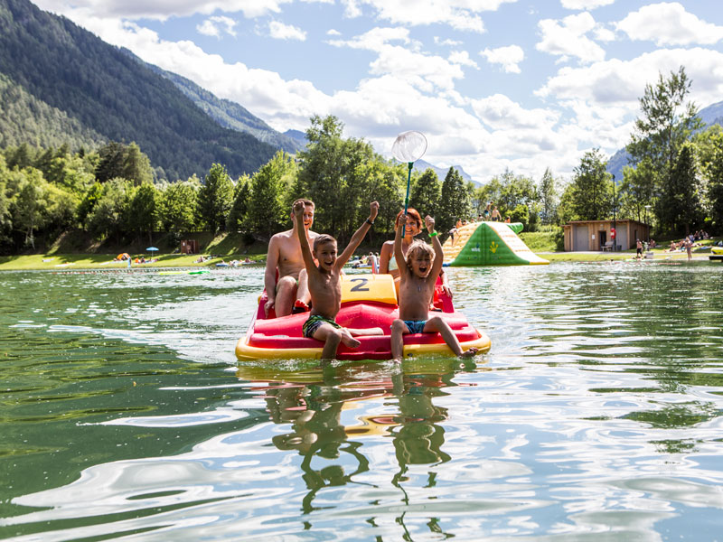 Swimming lakes and outdoor swimming pools - summer holidays in the Tiroler Oberland
